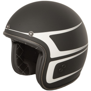 Fly .38 Graphics Helmet-Black/White
