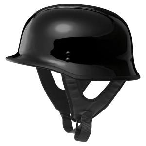 Fly 9MM Half Helmet-Gloss Black