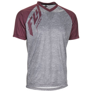 Fly Action Jersey-Burgundy
