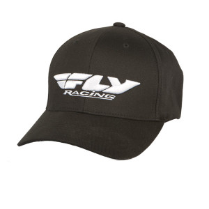 Fly Podium Youth Hat-Black