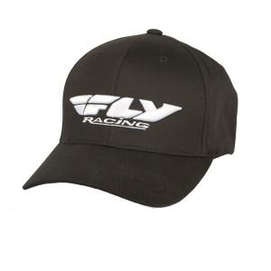 Fly Podium Youth Hat-Black