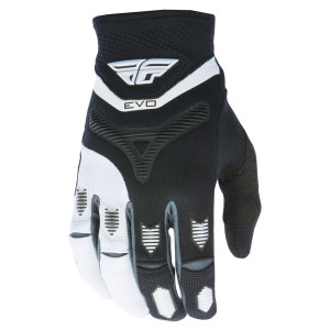Fly Evolution Gloves-Black/White