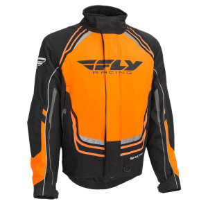 Fly Youth SNX Pro Jacket-Black/Orange