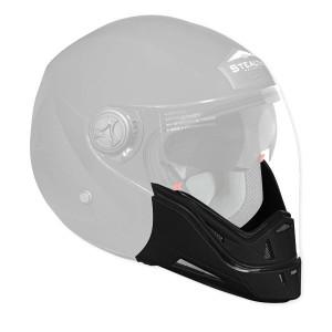 Vega Phantom Helmet Jaw Piece - Black
