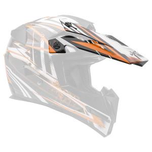Vega Mighty X Jr Blitz Helmet Visor - Orange