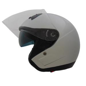Vega VTS1 Open Face Helmet - Pearl White