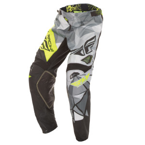 Fly Kinetic Crux Short Pants-Black/Yellow
