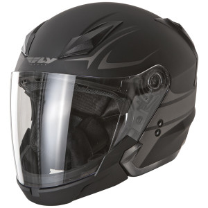 Fly Tourist Vista Modular Helmet - Flat Black