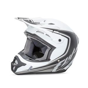 Fly Kinetic Full Speed Helmet-Matte White