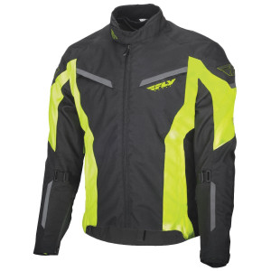 Fly Strata Jacket - Black/Yellow