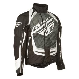 Fly SNX Pro Jacket-Black/White