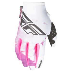 Fly Girl's Kinetic Gloves-Pink-Right