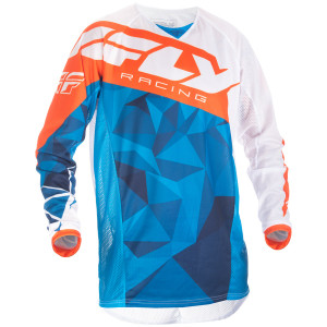 Fly Kinetic Crux Mesh Jersey-Blue
