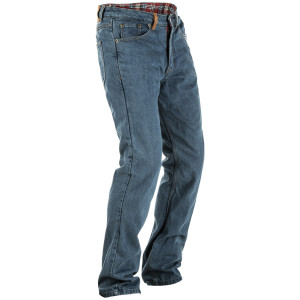 Fly Resistance Jeans - Blue