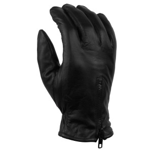 Vance GL2054 Mens Black Summer Biker Leather Motorcycle Riding Gloves
