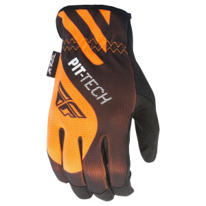 Fly Pit-Tech Lite Motorcycle Gloves - Orange