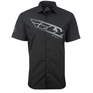 Fly Pit Shirt-Black/Grey