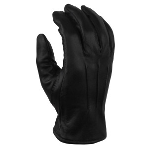 Vance GL2056 Mens Black Lined Biker Leather Motorcycle Riding Gloves