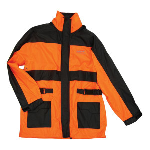 Vega Hi-Visibility Orange Rain Jacket