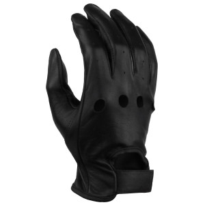 Vance VL440 Mens Black Unlined Leather Driving Gloves