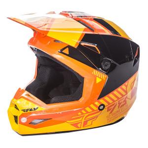 Fly Kinetic Elite Onset Helmet-Orange