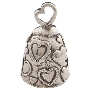 Biker Motorcycle Bells - Guardian Bell Heart