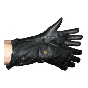 Vance VL443 Mens Lightweight Leather Gauntlet Gloves
