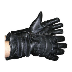 Vance Leather Two-Strap Lambskin Insulated Gauntlet Glove