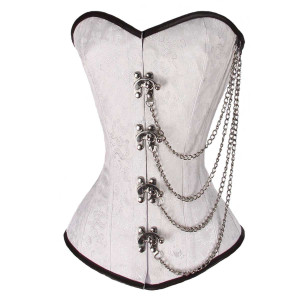 Ladies Brocade Chains Corset
