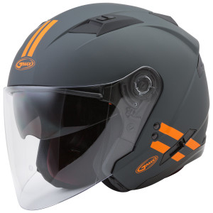 Gmax OF77 Downey Helmet - Orange
