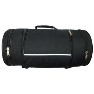 Vance VS360 Black Motorcycle Luggage Travel Sissy Bar Roll Bag