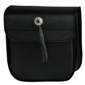 Vance VS301 Small Plain Motorcycle Sissy Bar Bag for Harley Davidson Motorcycles