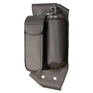 Vance Leather Crash Bar Left Side Water Bottle/Tool Bag