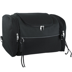 Vance VS381 Black Nylon Motorcycle Trunk Bag