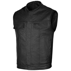 Vance Leather Concealed Carry Motorcycle Club Vest
