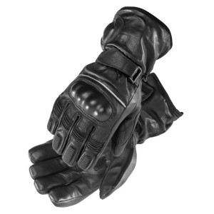 Firstgear Carbon Heated Leather Motorcycle Gloves