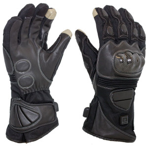 Venture Heat Street Carbon Heated Motorcycle Gloves