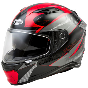 Gmax FF98 Apex Helmet - Black Red