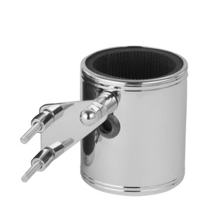 Kruzer Kaddy Kustom Kaddy Chrome Cup Holder