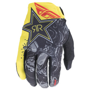 Fly Lite Rockstar Motorcycle Gloves