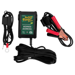 Battery Tender Jr. High-Efficiency 6-Volt Battery Charger