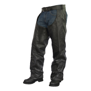 Tall Biker Leather Chaps