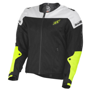 Fly Mesh Flux Air Jacket - Hi-Viz Yellow