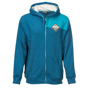 Fly Patch Hoody - Blue