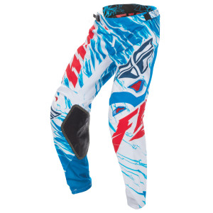 Fly Kinetic Relapse Pants-White/Blue
