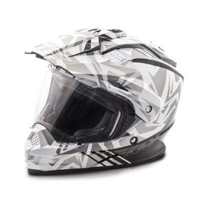 Fly Trekker Nova Helmet -White/Grey