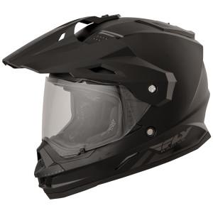 Fly Trekker Dual Sport Helmet - Black