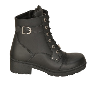 Milwaukee Women's Onyx Motorcycle Boots