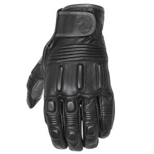 Scorpion Bixby Leather Motorcycle Gloves - Black