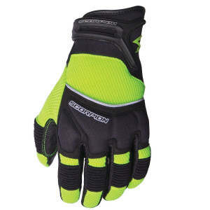 Scorpion Coolhand II Motorcycle Gloves - Neon